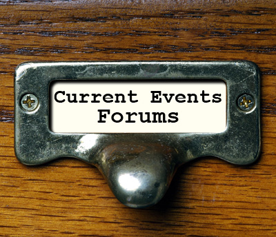 Current Events Forums